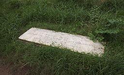 Grave of Matilda Bradburn