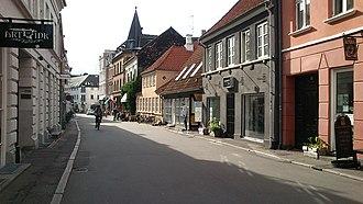 Latinerkvarteret, Aarhus - Image: Graven (Århus)