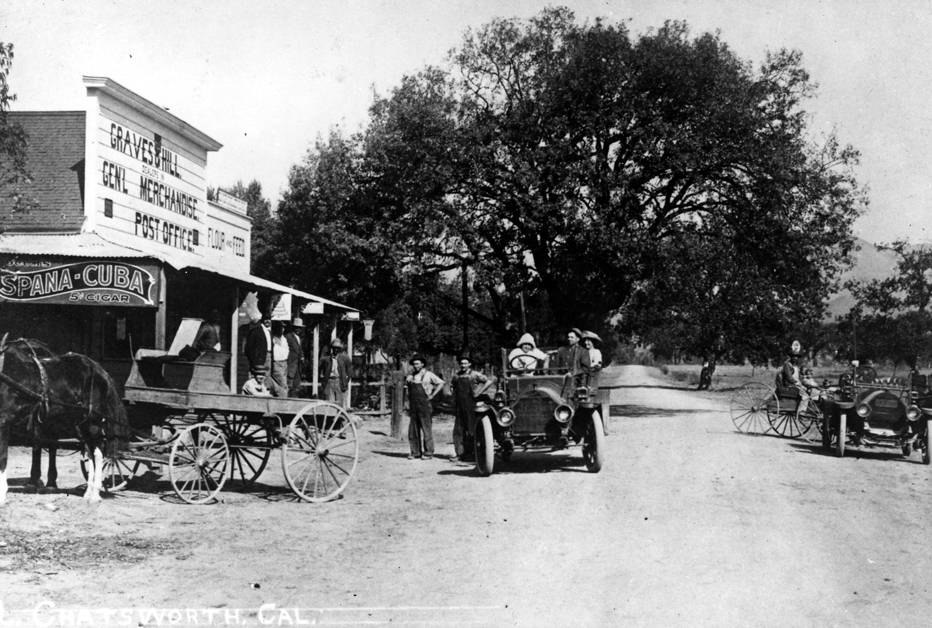 Graves and Hill General Store, circa 1911 (CHS30)