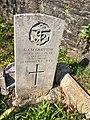 Gravestone of Alfred John Morgan at St Mary's Church, Whitchurch, April 2020.jpg