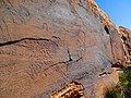 Gravure rupestre à El Ghicha ( W.Laghouat ) 01.jpg
