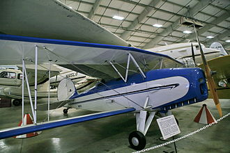 Great Lakes Aircraft Company - Great Lakes 2T-1A Sportster