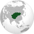 Approximate range of Inner Asia