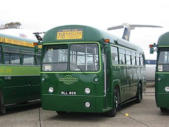 Green Line Coaches - Preserved Metro Cammell bodied AEC Regal IV