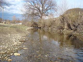 Grosul River river in Romania