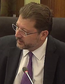 Still image of David Grosso, from a streaming video
