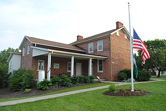 Grove City, Ohio - Gantz Homestead, built 1832