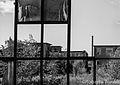Guardando dalla finestra la ciminiera - stabilimento ex ceramiche Vaccari.jpg