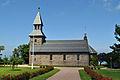 Gudhjem Kirche, Bornholm (2012-07-08), by Klugschnacker in Wikipedia (1).JPG