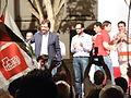Guillermo Fernández Vara en Coria con Hernando, Juan Valle y J.M. Hernandez (2).jpg