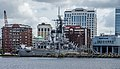 Gunship in Downtown USS Wisconsin (7315918464).jpg