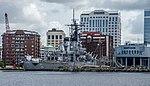 Gunship in Downtown USS Wisconsin (7315918464).jpg