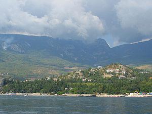 Приобретение дома у моря.Посёлок Гурзуф. Вид с моря.