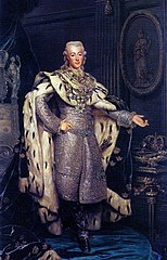 Gustav III (1746-1792), King of Sweden, in coronation-robes