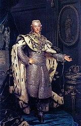Alexander Roslin: Gustav III (1746-1792), King of Sweden, in coronation-robes