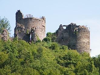 Siege of Gvozdansko - Ruins of Gvozdansko Castle