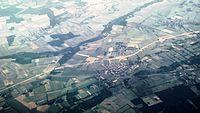 Györ-Moson-Sopron district Répcelak city E65 highway Rába river from north IMG 8025.JPG