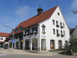 Hülben - Hülben Town hall 2013
