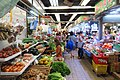 HK 上水 Sheung Shui 石湖墟市政大廈 Shek Wu Hui Municipal Services Building 上水街市 food Market interior June 2018 IX2 07.jpg