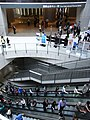 HK Central One IFC Mall sign escalators visitors April-2012.JPG