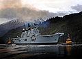 HMS Illustrious on Loch Long, Scotland MOD 45153592.jpg