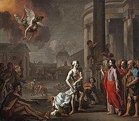 HONDIUS Abraham 1669 Jésus à la piscine de Bethsaïda.jpg