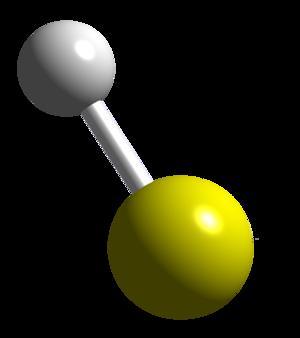 Sulfanyl - Image: HS CM 3D balls