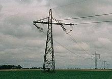 İsveç'te Baltık Kablo HVDC Pylons