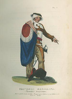 Claudio Linati - Image: Hacendado Propriétaire by Claudio Linati 1828