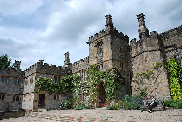Haddon Hall has been used to depict Thornfield on multiple occasions. Haddon Hall.jpg