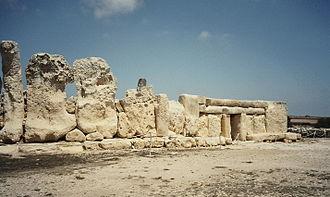 Malta (island) - Ħaġar Qim