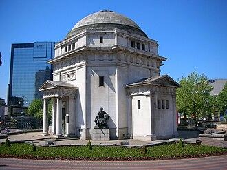Hall of Memory, Birmingham - Image: Hall of Memory Birmingham