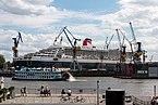 Hamburg, Hafen, Kreuzfahrtschiff -Queen Mary 2- im Dock -- 2016 -- 3068.jpg
