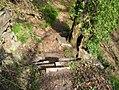 Hannoversche klippen kletterstelle im pfad von oben ds wv 04 2010.jpg