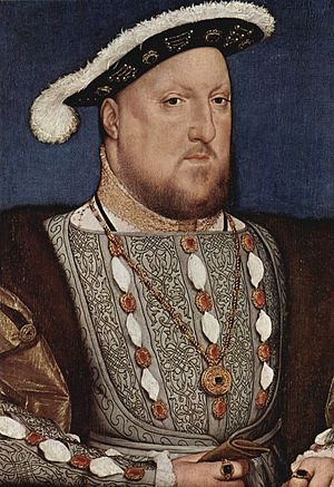 Portrait of Christina of Denmark - Holbein, Portrait of Henry VIII, c 1537. Thyssen-Bornemisza Museum