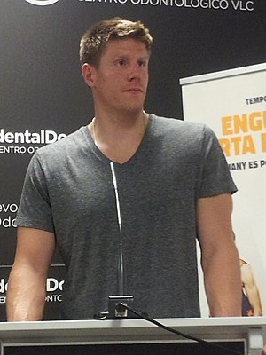 Luke Harangody - Luke Harangody during his presentation as a Valencia Basket player.