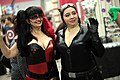 Harley Quinn & Catwoman cosplayers (15840620028).jpg