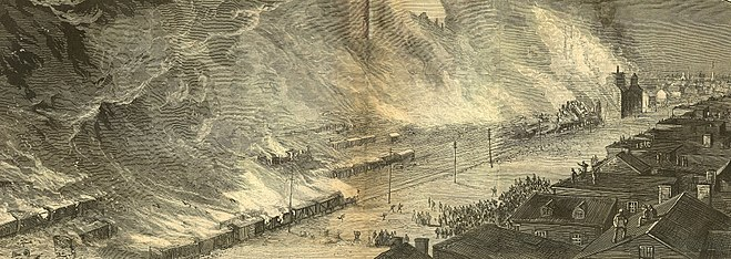 """gunfire and brickbats the great railway strikes of 1877 Date (week) monday block day thursday friday 1/8-1/12 ch 17 """"gunfire and brickbats: the great railway strike of 1877"""" pdf """"robber barons and rebels- howard zinn."""