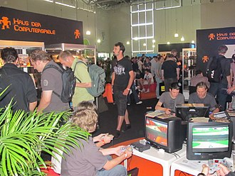 Gamescom - Retro exhibition at Gamescom 2010