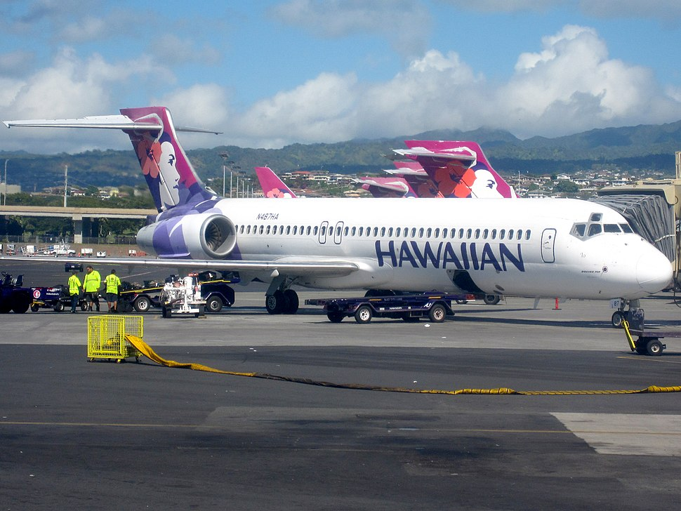 Hawaiian Airlines.Boeing 717-200.HNL.2009