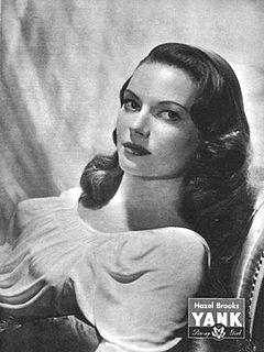 Hazel Brooks American actress