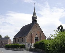 The church in Hecq