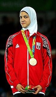 Hedaya Malak Egyptian taekwondo practitioner