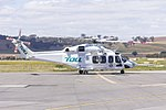 Helicorp (VH-TJE) Leonardo-Finmeccanica AW139 at Wagga Wagga Airport (4).jpg