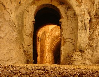 Hellfire Caves - A tunnel in the Hellfire Caves