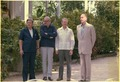 Helmut Schmidt, James Callaghan, Jimmy Carter and Giscard d'Estaing in Guadeloupe. - NARA - 182932.tif
