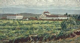 Convento da Luz, 1860
