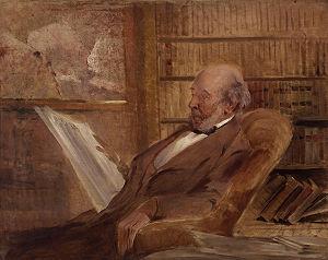Herbert Spencer, by John McLure Hamilton (died...