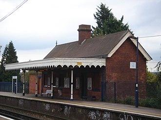 High Brooms railway station - Image: High Brooms Station 02