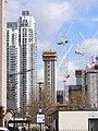 High rise construction London Docklands E14.jpg